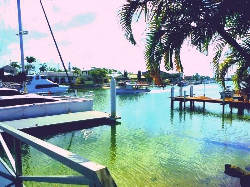 RARE WATERFRONT TROPICAL OASIS WALK TO PRISTINE BEACHES - 4 MONTH LEASE AVAILABLE