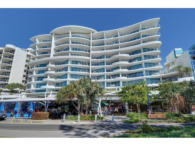 Prime Sirocco Resort on Mooloolaba Esplanade. 44m2 – 398m2